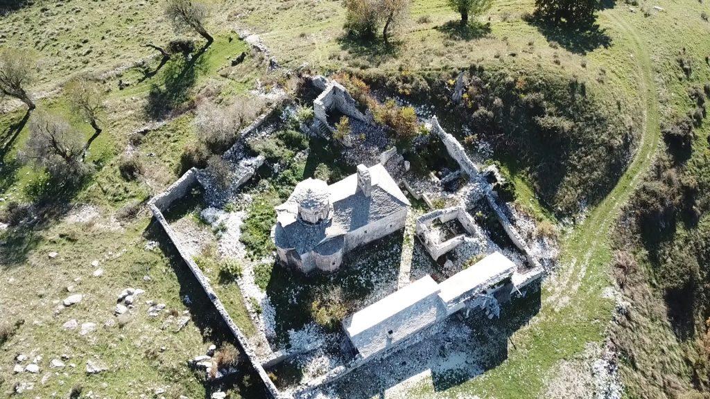 Church of the Monastery of the Dormition of Theotokos in Goranxi